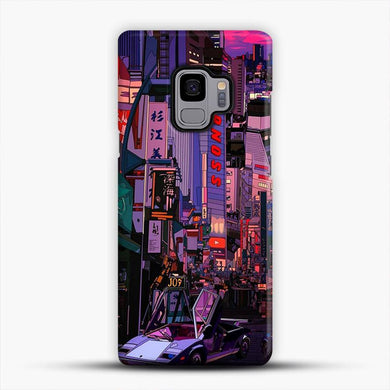 Tokyo I Do Not Speak Japanese Cyberpunk Samsung Galaxy S9 Case, Snap 3D Case | JoeYellow.com