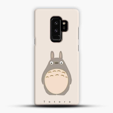 Totoro Standding Up Samsung Galaxy S9 Plus Case, Black Snap 3D Case | JoeYellow.com
