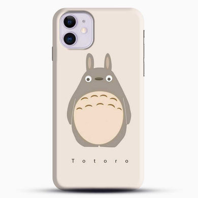 Totoro Standding Up iPhone 11 Case, Black Snap 3D Case | JoeYellow.com