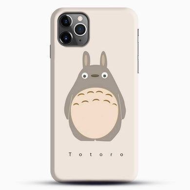 Totoro Standding Up iPhone 11 Pro Max Case, Black Snap 3D Case | JoeYellow.com