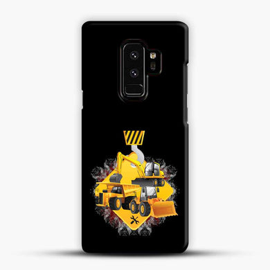 Truck And Diggers Samsung Galaxy S9 Plus Case, Black Snap 3D Case | JoeYellow.com