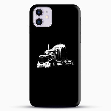 Truck Black And White iPhone 11 Case, Black Snap 3D Case | JoeYellow.com