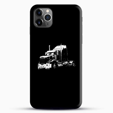 Truck Black And White iPhone 11 Pro Max Case, Black Snap 3D Case | JoeYellow.com