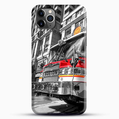 Truck Boston Fire iPhone 11 Pro Max Case, Black Snap 3D Case | JoeYellow.com