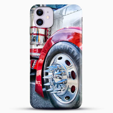 Truck Sinister Semi iPhone 11 Case, Black Snap 3D Case | JoeYellow.com