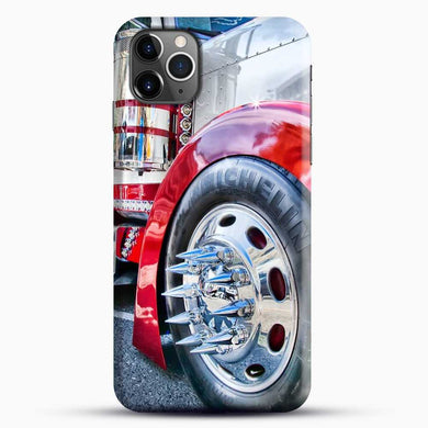 Truck Sinister Semi iPhone 11 Pro Max Case, Black Snap 3D Case | JoeYellow.com