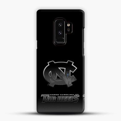 Unc Logos Samsung Galaxy S9 Plus Case, Black Snap 3D Case | JoeYellow.com