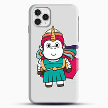 Load image into Gallery viewer, Unicorn Girl Never Perfect iPhone 11 Pro Case, Black Snap 3D Case | JoeYellow.com