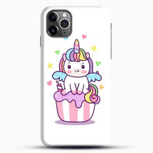Load image into Gallery viewer, Unicorn Girl On Cupcake iPhone 11 Pro Max Case, Black Snap 3D Case | JoeYellow.com