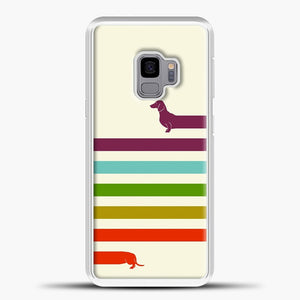 Very Long Dachshund Samsung Galaxy S9 Case