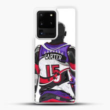 Load image into Gallery viewer, Vince Carter Samsung Galaxy S20 Ultra Case, White Plastic Case | JoeYellow.com