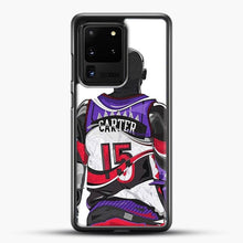 Load image into Gallery viewer, Vince Carter Samsung Galaxy S20 Ultra Case, Black Rubber Case | JoeYellow.com