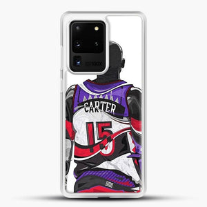 Vince Carter Samsung Galaxy S20 Ultra Case, White Rubber Case | JoeYellow.com