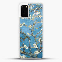 Load image into Gallery viewer, Vincent Van Gogh Branches With Almond Blossom Samsung Galaxy S20 Case, White Plastic Case | JoeYellow.com
