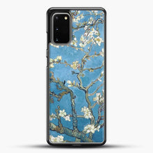 Load image into Gallery viewer, Vincent Van Gogh Branches With Almond Blossom Samsung Galaxy S20 Case, Black Rubber Case | JoeYellow.com