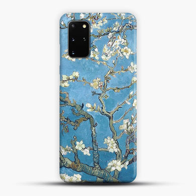 Vincent Van Gogh Branches With Almond Blossom Samsung Galaxy S20 Plus Case, Snap 3D Case | JoeYellow.com
