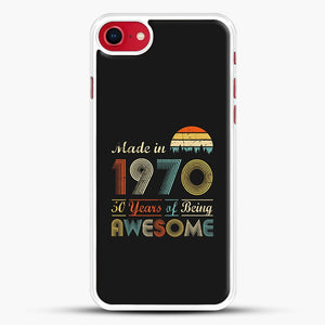 Vintage 1970 Made in 1970 50th birthday 50 years old Gift iPhone 7 Case
