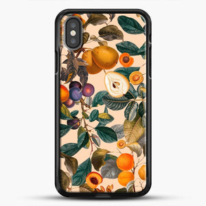 Vintage Fruit Pattern iPhone Case