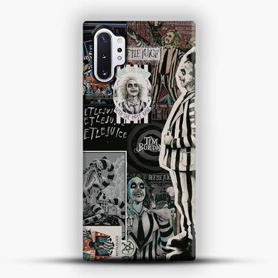 Vintage Horror Collection Beetle Juice Samsung Galaxy Note 10 Plus Case, Snap 3D Case | JoeYellow.com