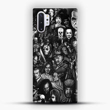 Load image into Gallery viewer, Vintage Horror Collection Movie Collage Samsung Galaxy Note 10 Plus Case, Snap 3D Case | JoeYellow.com