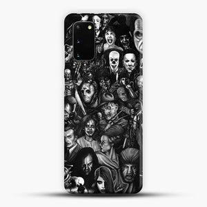 Vintage Horror Collection Movie Collage Samsung Galaxy S20 Case, Snap 3D Case | JoeYellow.com