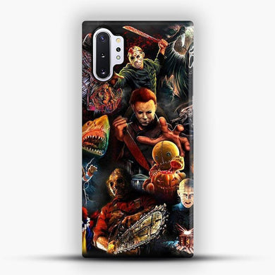 Vintage Horror Collection Movie Film Attack Samsung Galaxy Note 10 Plus Case, Snap 3D Case | JoeYellow.com