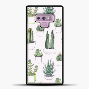 Watercolour Cacti And Succulents Samsung Galaxy Note 9 Case