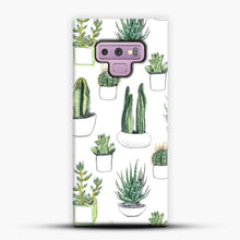 Load image into Gallery viewer, Watercolour Cacti And Succulents Samsung Galaxy Note 9 Case