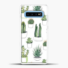Load image into Gallery viewer, Watercolour Cacti And Succulents Samsung Galaxy S10 Case