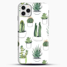 Load image into Gallery viewer, Watercolour Cacti And Succulents iPhone 11 Pro Case, Black Snap 3D Case | JoeYellow.com