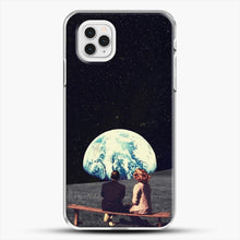 Load image into Gallery viewer, We Used To Live There iPhone 11 Pro Case, White Plastic Case | JoeYellow.com