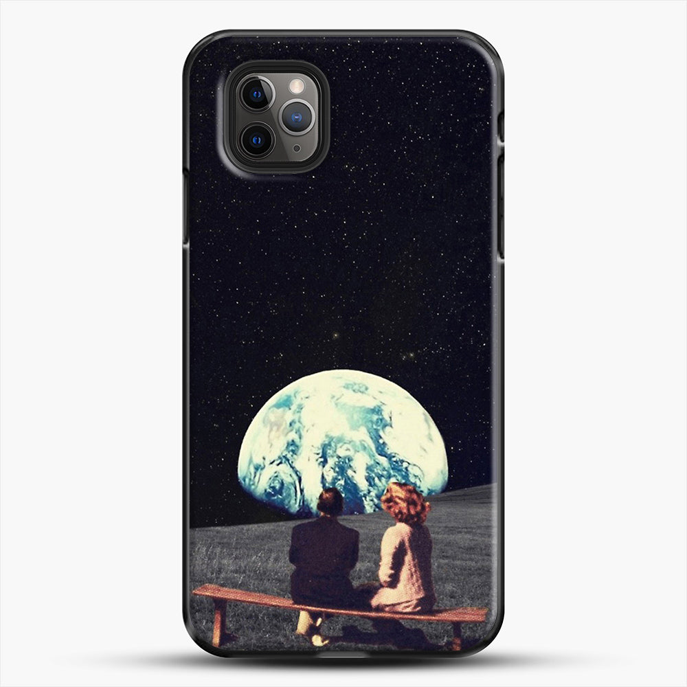 We Used To Live There iPhone 11 Pro Max Case, Black Plastic Case | JoeYellow.com