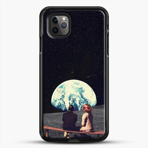 We Used To Live There iPhone 11 Pro Max Case, Black Rubber Case | JoeYellow.com
