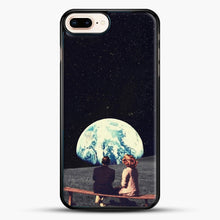 Load image into Gallery viewer, We Used To Live There iPhone 7 Plus Case, Black Rubber Case | JoeYellow.com