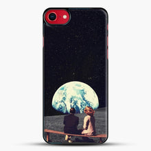 Load image into Gallery viewer, We Used To Live There iPhone 8 Case, Black Plastic Case | JoeYellow.com