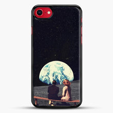 Load image into Gallery viewer, We Used To Live There iPhone 8 Case, Black Rubber Case | JoeYellow.com