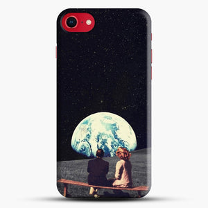 We Used To Live There iPhone 8 Case, Black Snap 3D Case | JoeYellow.com