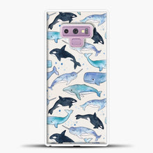 Load image into Gallery viewer, Whales Orcas Narwhals Samsung Galaxy Note 9 Case