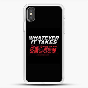 Whatever It Takes Logos iPhone X Case