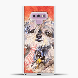 Whimsical Puppy with Tie Samsung Galaxy Note 9 Case