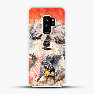 Whimsical Puppy with Tie Samsung Galaxy S9 Plus Case