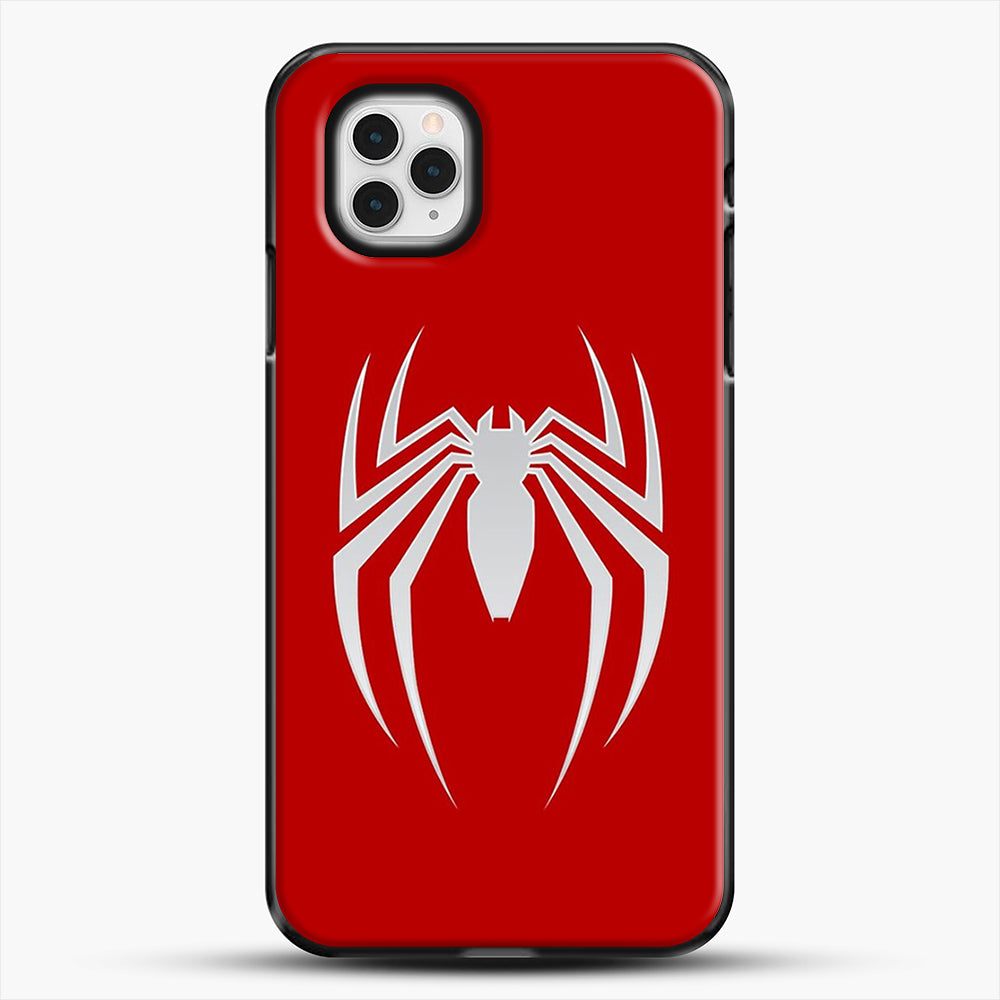 White Spider iPhone 11 Pro Case, Black Plastic Case | JoeYellow.com