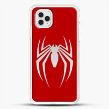 Load image into Gallery viewer, White Spider iPhone 11 Pro Case, White Rubber Case | JoeYellow.com