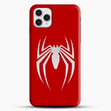 Load image into Gallery viewer, White Spider iPhone 11 Pro Case, Black Snap 3D Case | JoeYellow.com