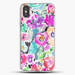 Wild Garden Painterly Watercolor Floral iPhone Case