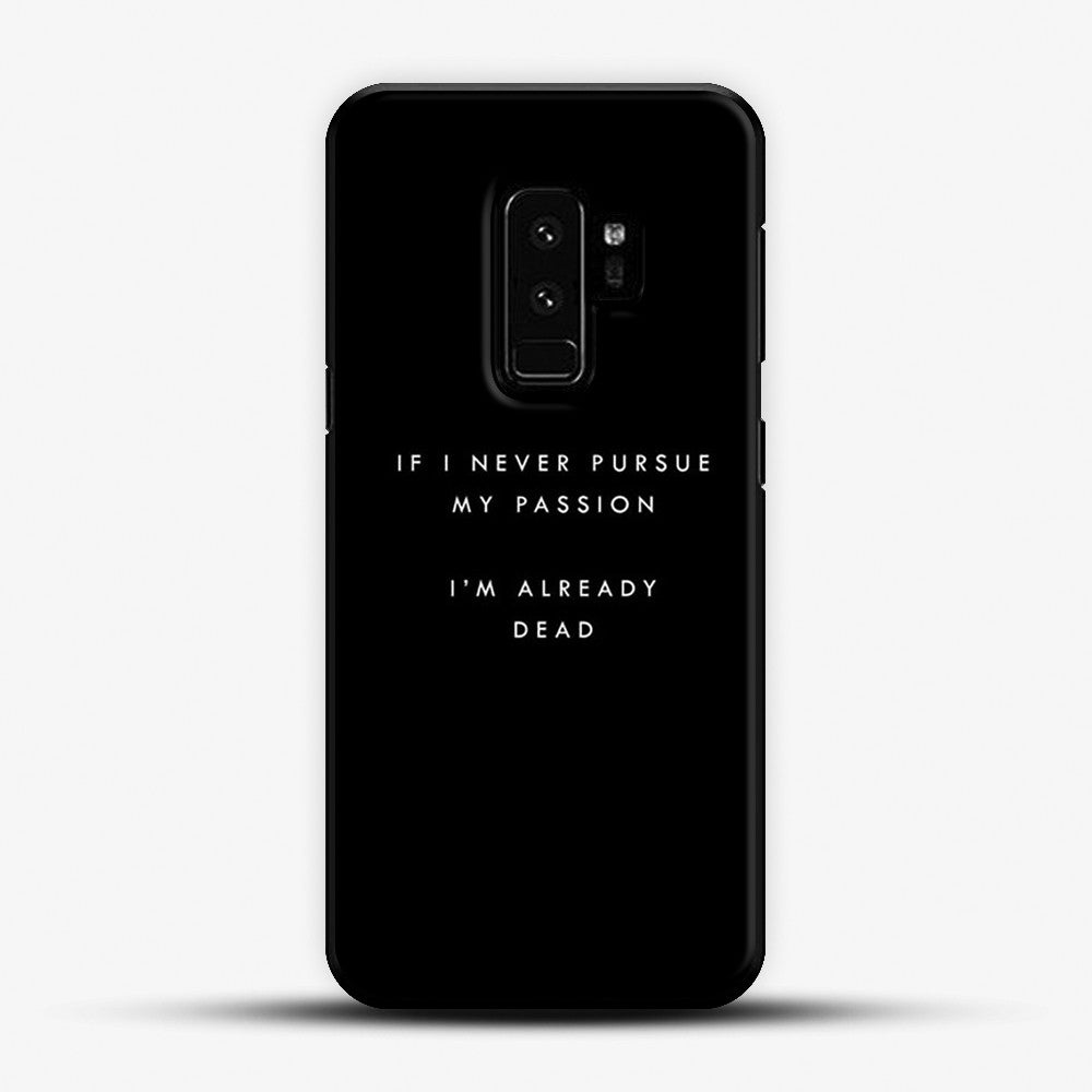 Witt lowry lyrics Samsung Galaxy S9 Plus Case