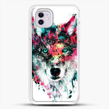 Load image into Gallery viewer, Wolf Ii iPhone 11 Case, White Rubber Case | JoeYellow.com