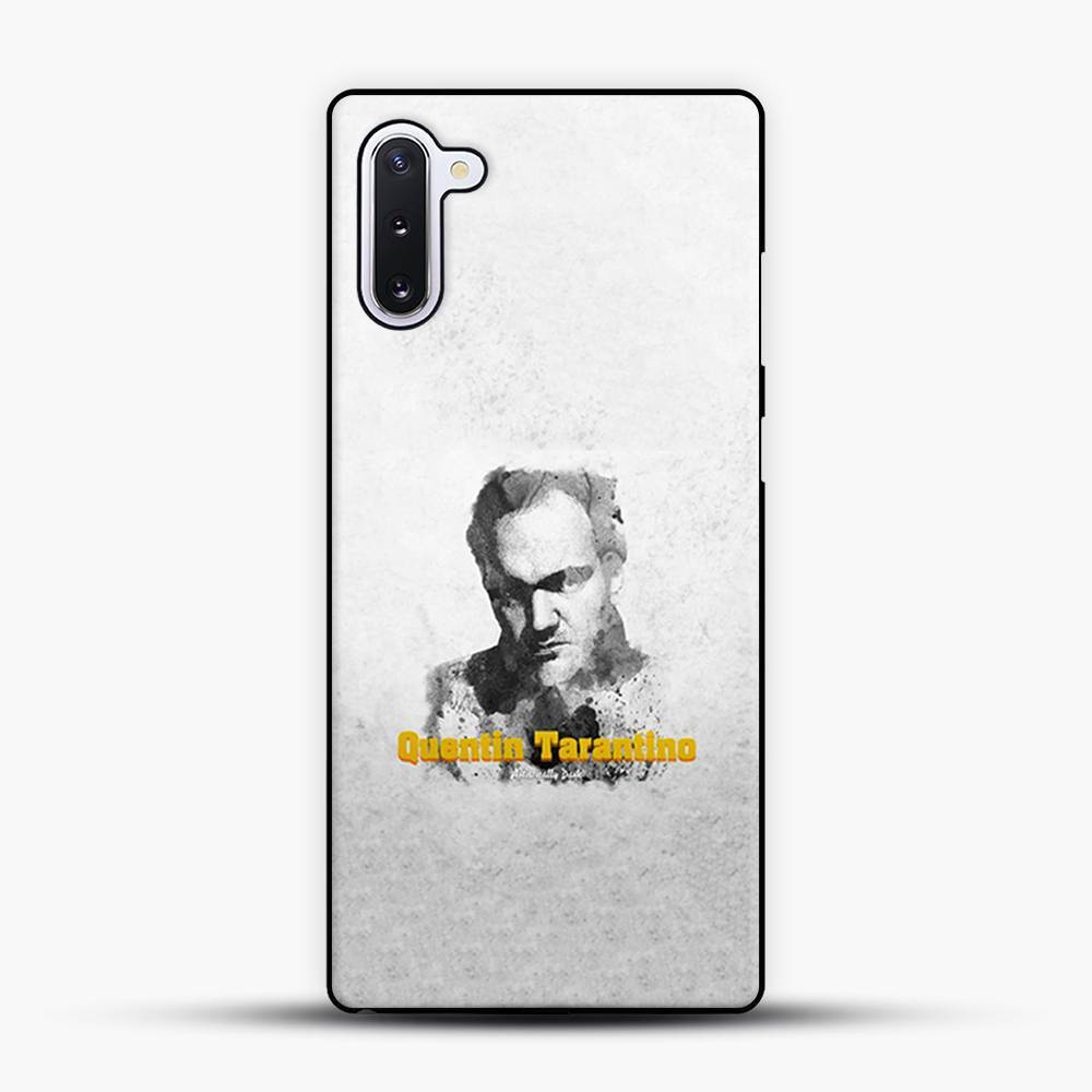 Written And Directed By Quentin Tarantino Artistically Dark Samsung Galaxy Note 10 Case, Black Plastic Case | JoeYellow.com