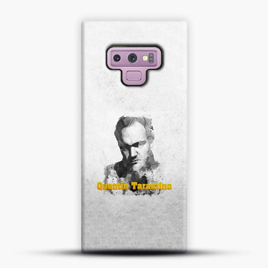 Written And Directed By Quentin Tarantino Artistically Dark Samsung Galaxy Note 9 Case, Snap 3D Case | JoeYellow.com