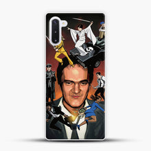 Load image into Gallery viewer, Written And Directed By Quentin Tarantino Character Samsung Galaxy Note 10 Case, White Plastic Case | JoeYellow.com